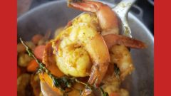 Chef Noel Cunningham's Spicy Curried Shrimp