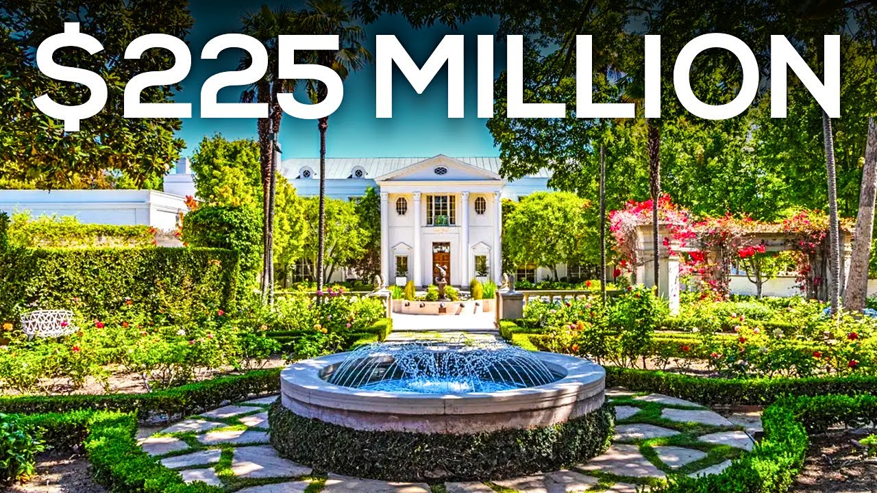 Inside Bel Air's Most Expensive Mega Mansion