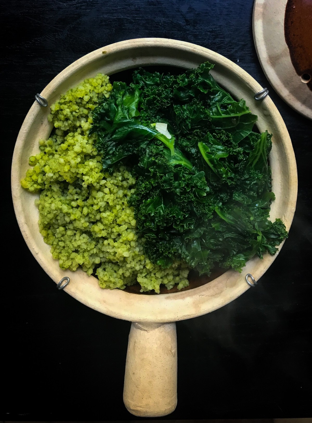 green quinoa with kale! these vegetarian meal prep recipes are to die for!