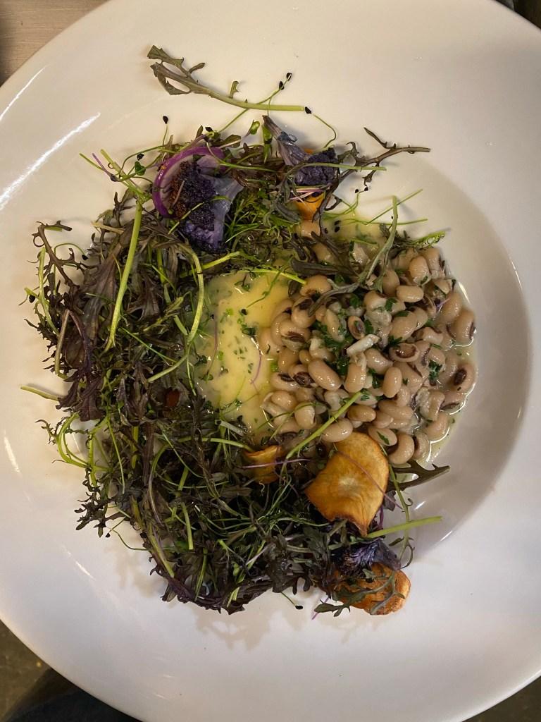 Adding a fresh salad to this fish recipe makes this dish!