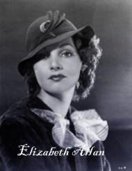 Image result for elizabeth allan actress color