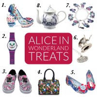 Alice in Wonderland treats