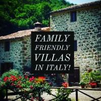 Family friendly villas in Italy!