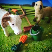 My first Schleich animal toys