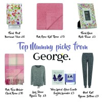 Our gift guide for new mummies at George at ASDA