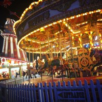 A winter wander at Winter Wonderland, Hyde Park London