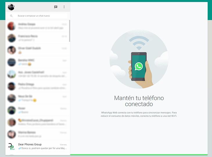WhatsApp Web cliente