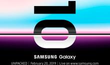 Filtrados los tres modelos del próximo Galaxy S10