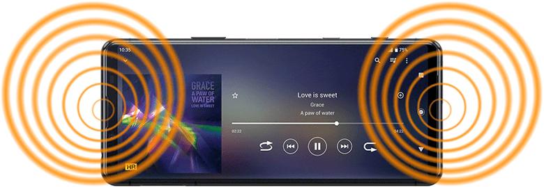 Sony Xperia 5 II altavoces