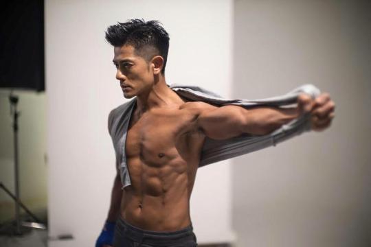 Muscular Gay Asian Men