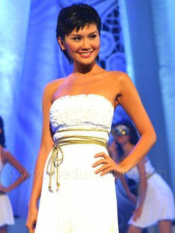 Peggy Chang Miss Singapore