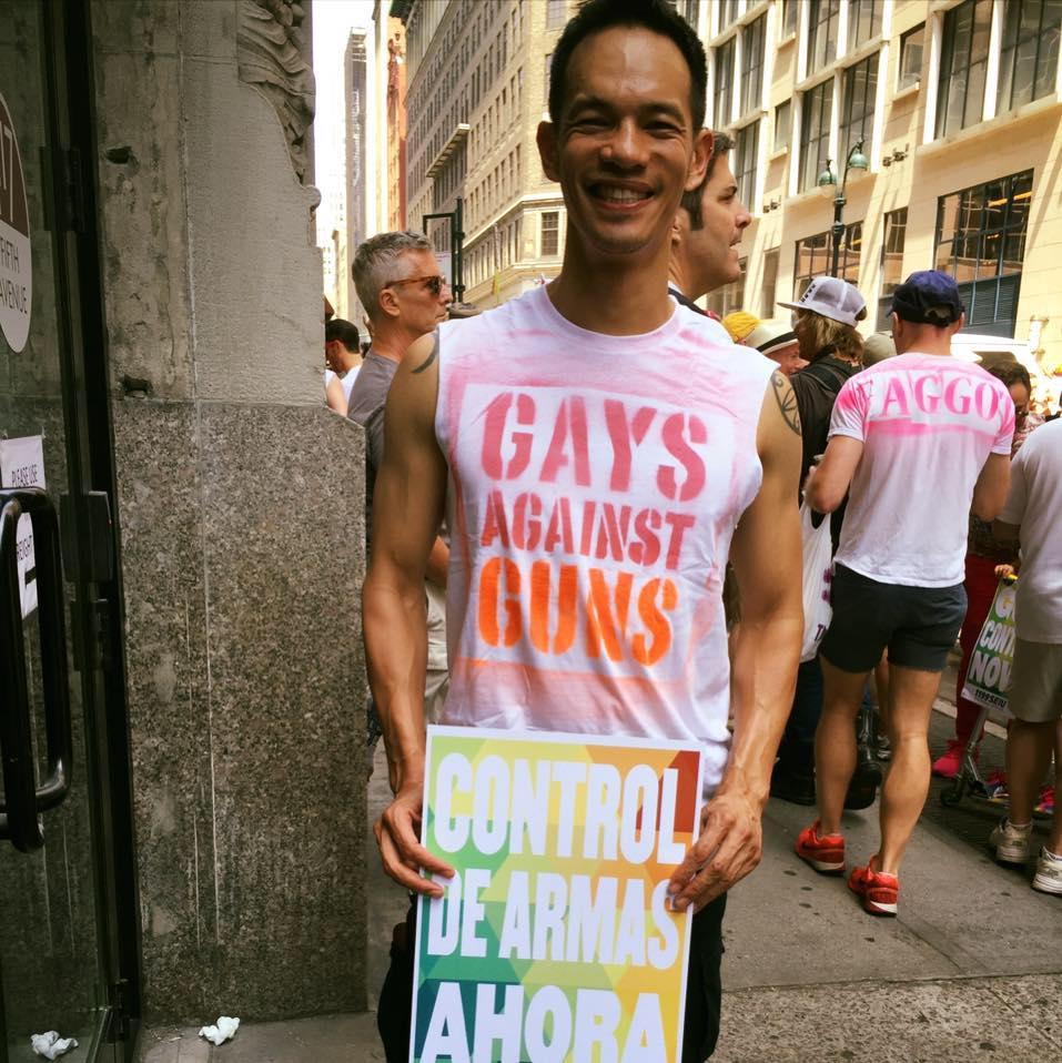 Laurindo Garcia gays against guns