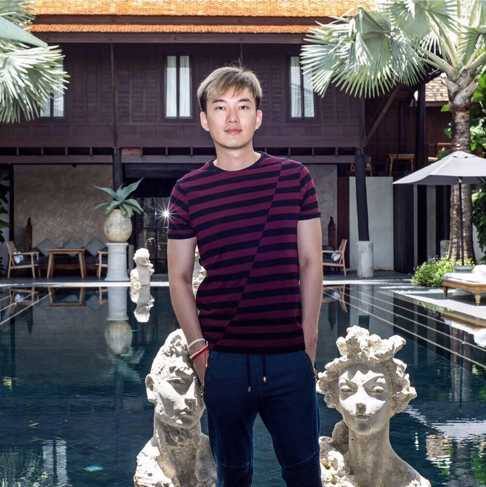 Tom Tan at Villa