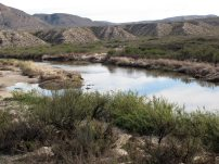 Along the Boquillas Canyon Trail