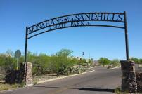 Monhans Sandhills State Park entrance