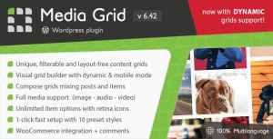 Media Grid – WordPress Responsive Portfolio