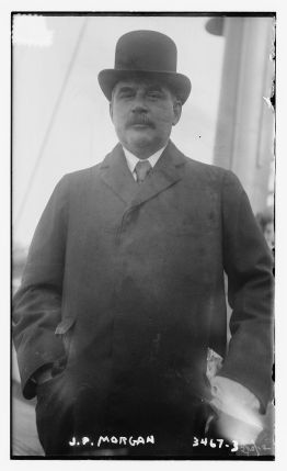 J.P. Morganic, owner of White Star and Titanic