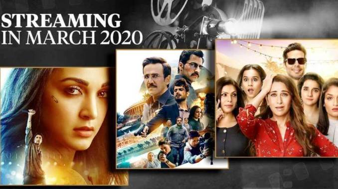 Here is the ultimate list of upcoming exciting Indian Hindi web series of March 2020