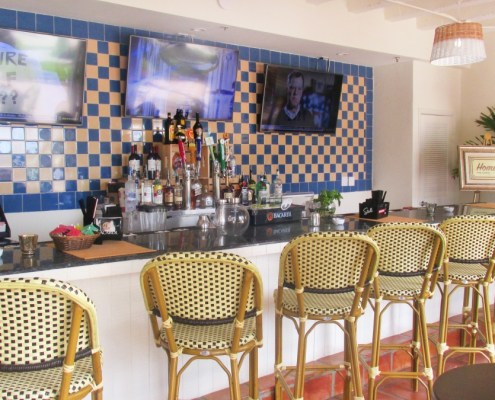 Homeros bar deauville beach resort