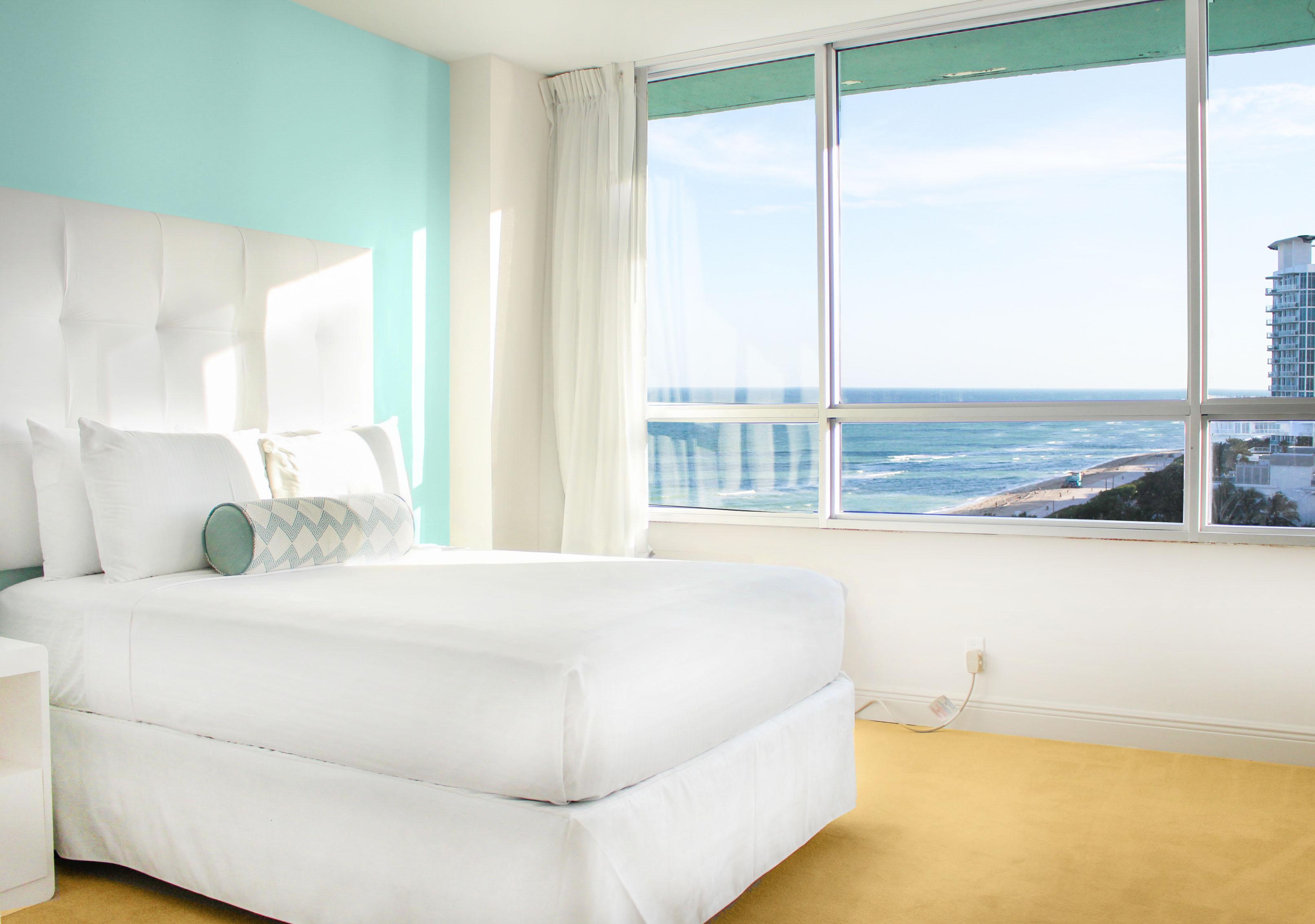 Standard ocean view guestroom deauville beach resort