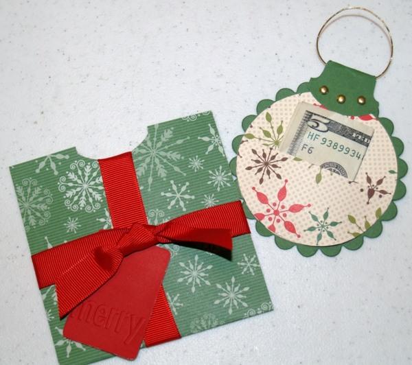 Geldgeschenke Zu Weihnachten Ideenreich Basteln