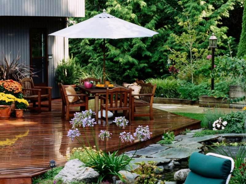 Images of small patio gardens. best patio garden ideas how to ...