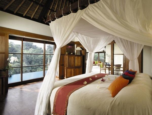 Luxus Ferienvillen In Bali Ubud Hanging Gardens Mitten