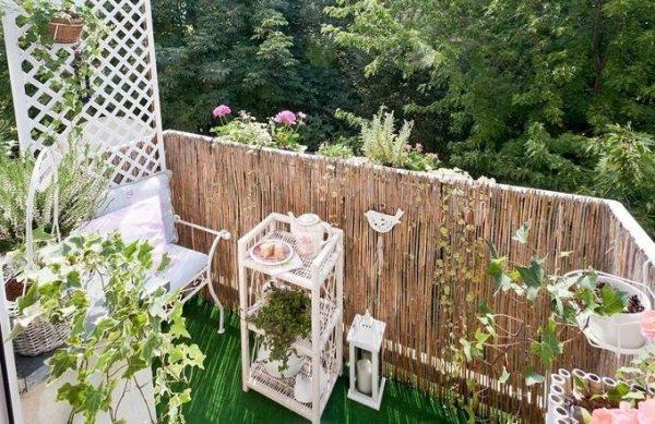 sichtschutz balkon selber machen nxsone45. Black Bedroom Furniture Sets. Home Design Ideas