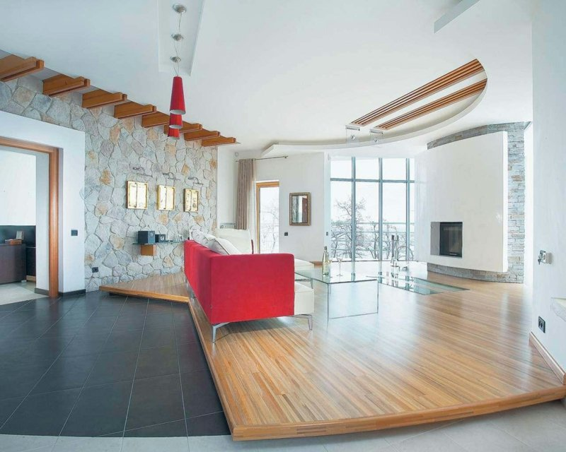 Klassisches Wohnzimmer Mit Modernen Details
