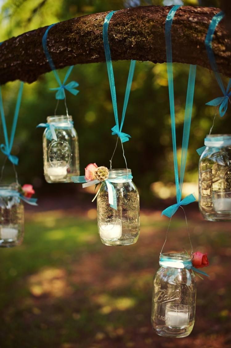 Windlicht Im Garten 45 Kreative Bastelideen Für Gartendeko