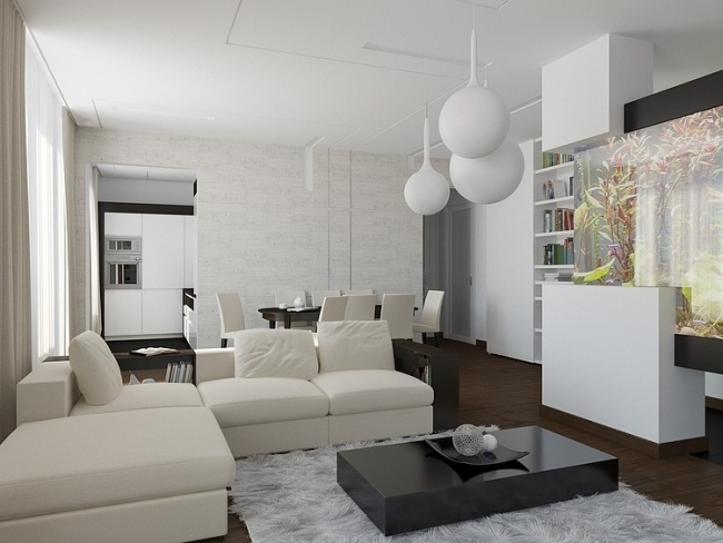 Partition Design For Living Room And Dining Hall. modernes ...