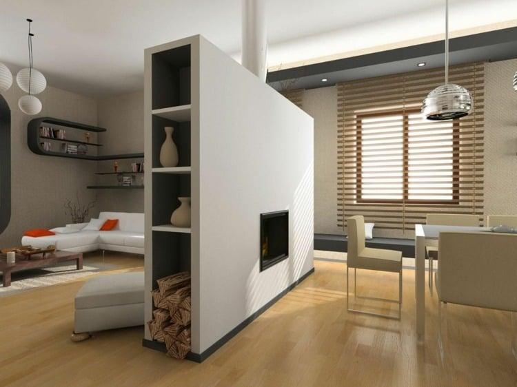 stilvolle moderne raumteiler definieren wohnbereich, hd pictures » raumteiler wohnzimmer | 4k ultra, Design ideen