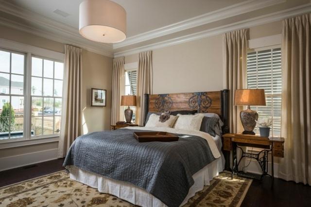 Schlafzimmer Design Rustikal