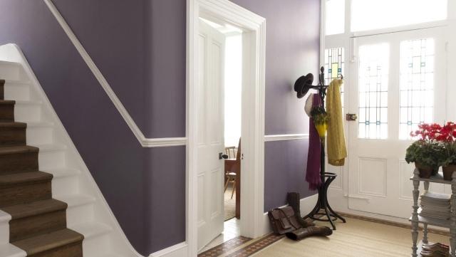 62 Ideen Fr Farbgestaltung Im Flur Und Eingangsbereich