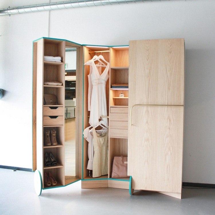 Begehbarer Kleiderschrank Für Kleines Zimmer Gute Ordnung