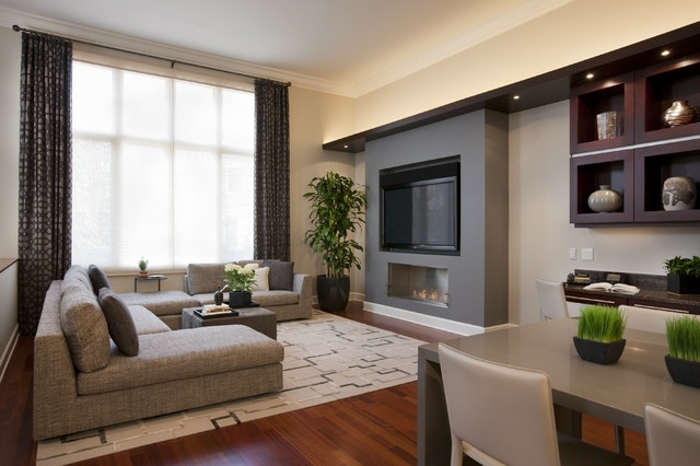 Small living room arrangements with tv and fireplace. 125 design ...