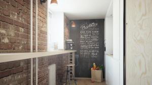 Ideen Fr Wandgestaltung Schwarze Kreidetafel Als Highlight