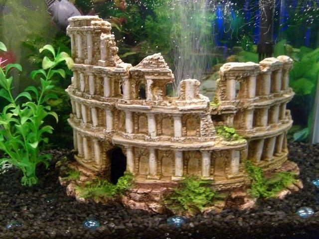 deko fur aquarium selber machen, aquarium deko aus ton selber machen | framesite.blog, Design ideen