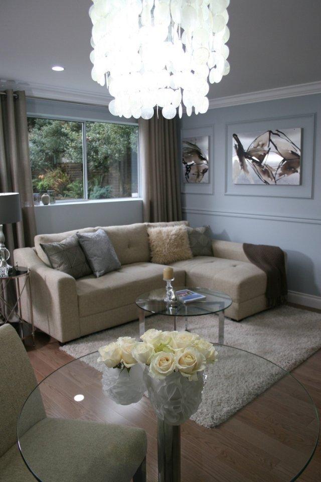 Wohnzimmer modern beige  KLEINES WOHNZIMMER GESTALTEN – nxsone45