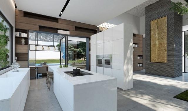 Modernes Wohnhaus Mit Offenem Grundriss Von Ando Studio
