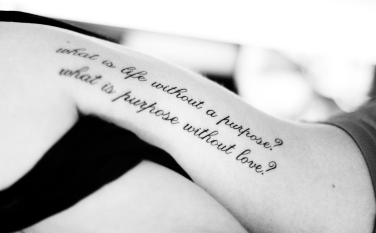 Ideen Fur Tattoo Schriften Spruche Und Schriftarten