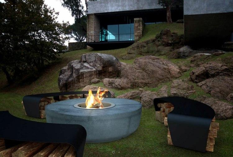 Feuerstelle Im Garten 23 Modelle Als Praktisches Accessoire