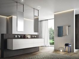 Badezimmermöbel in Weiß   38 moderne Badmöbel Sets