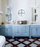 Badezimmer im Landhausstil  Ideen zum Kreieren des Stils