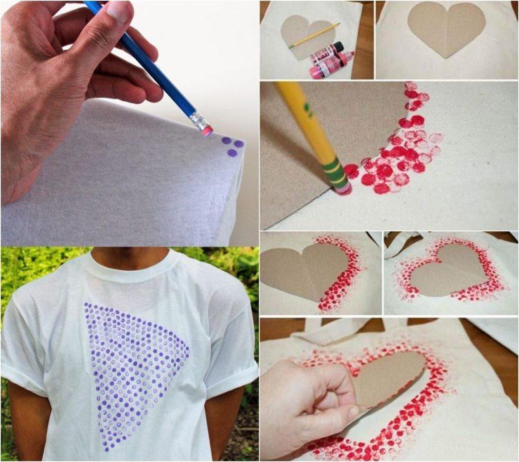 Die 92 Besten Bilder Zu T Shirts Bemalen T Shirt Bemalen Shirts