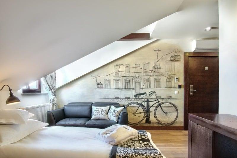 Schlafzimmer Mit Dachschräge Gestalten 23 Moderne Wohnideen