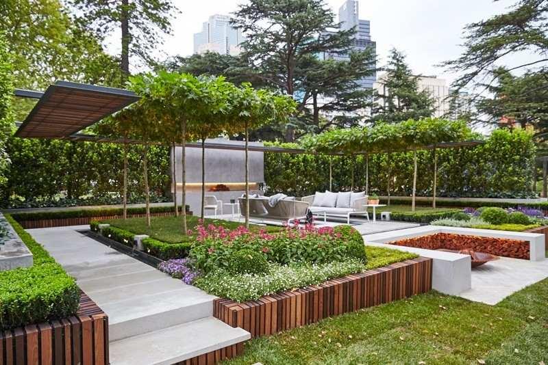 Garten Und Landschaftsbau Projekt Aus Australien