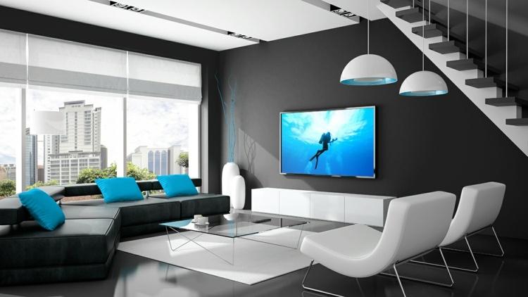 Wohnzimmer Fernseher Verstecken