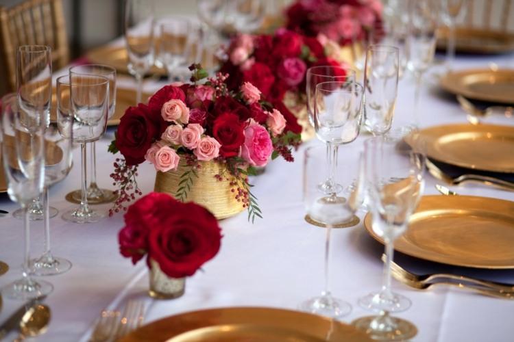 Tischdeko Zur Goldenen Hochzeit 25 Anregungen Fürs Fest