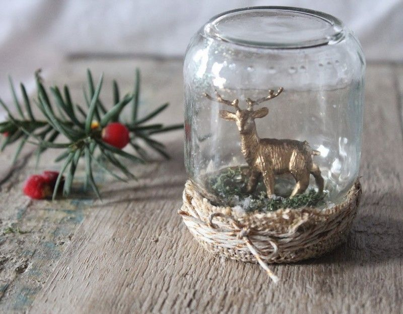 Schneekugel Basteln 36 Geschenkideen Zum Selbermachen